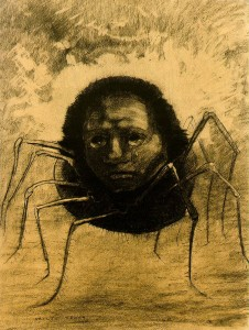 pabloara4 Odile Redon, crying-spider