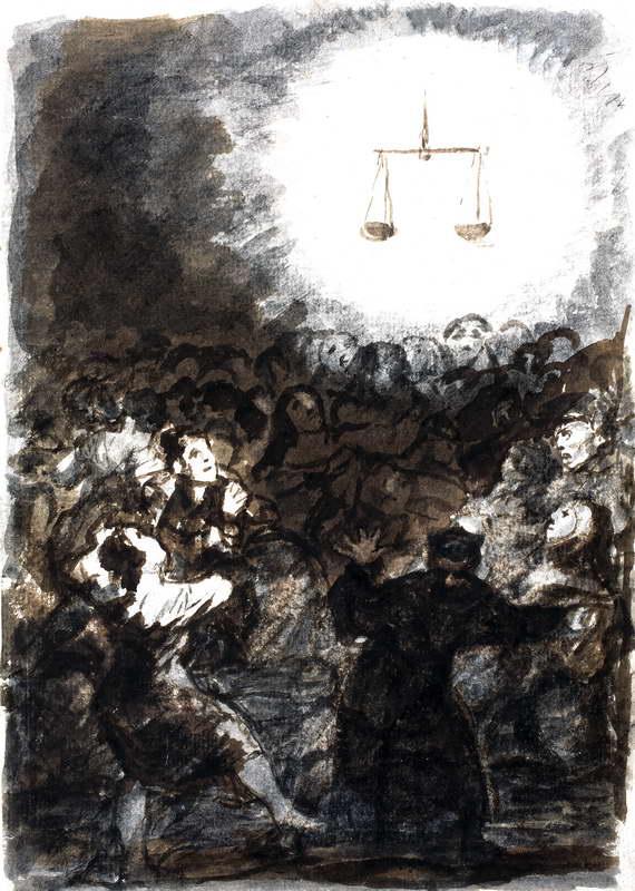 "Goya. ""Triunfo de la justicia"""