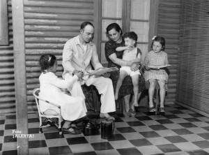 Familia obrera, 1941. Archivo General de la Nación