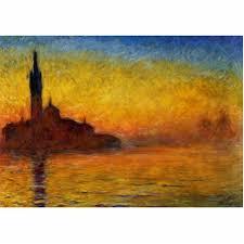 2- Monet- Crepusculo en venecia