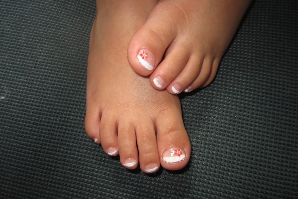 Imagen 1. pies de niña