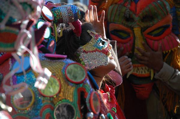 Imagen 10. mascaras del carnaval del norte