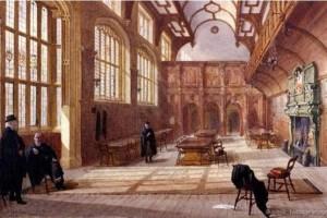 Charterhouse, acuarela de 1885