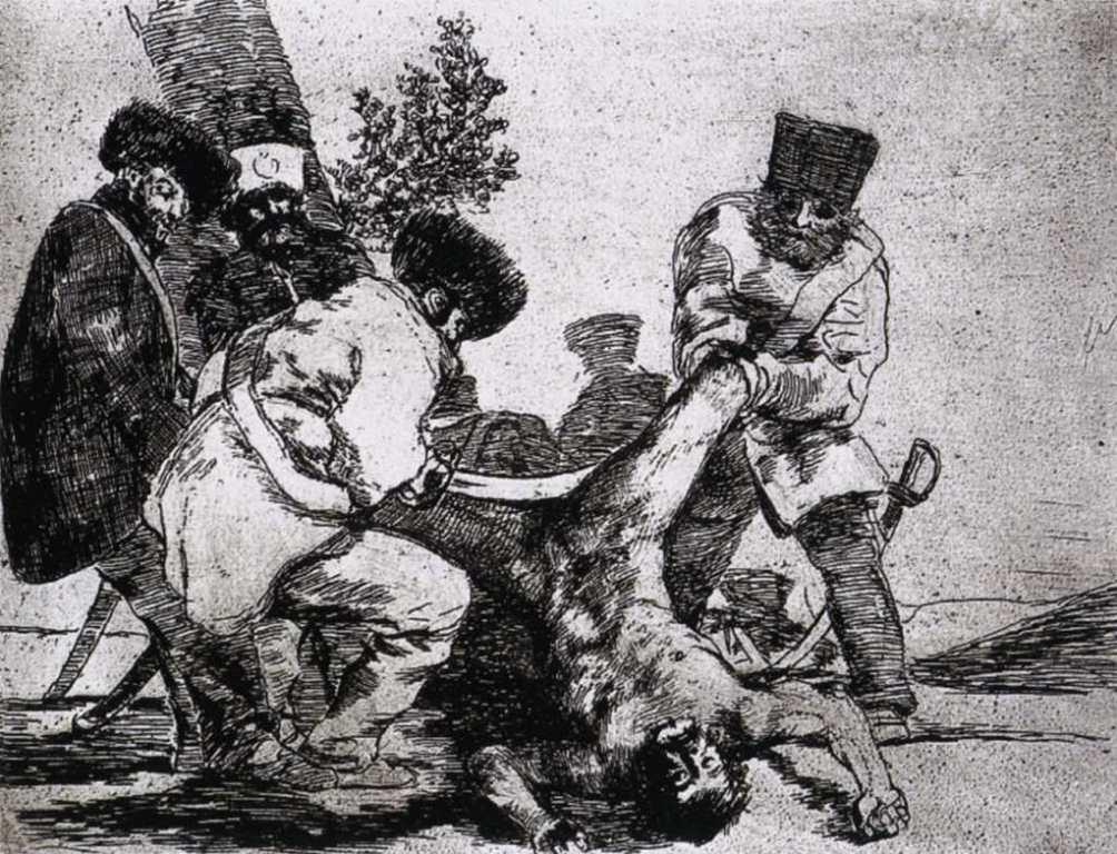 imagen 1 - Goya -los-desastres - Hasta la muerte Capricho n55 1797-99-3