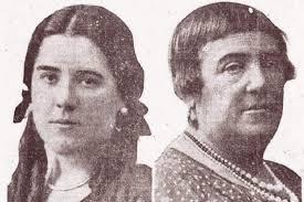 luisaHildegart y su madre