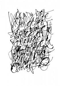 Silvia Cordero Vega - caligrafia 03