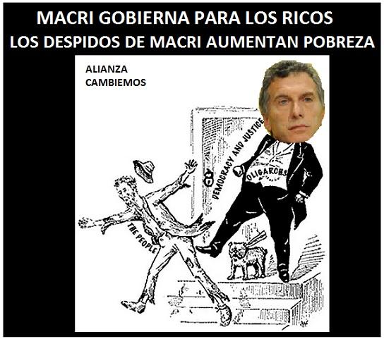 Foto N°5-Nota Revista-Macri Gobierna para los Ricos  Oligarquia Financiera Crisis Argentina 2016(11-05-16)