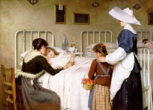 La visita de la madre, Enrique Paternina 1892 (1)