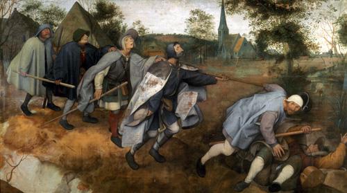 Bruegel - La parabola de los ciegos