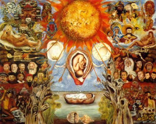 Moisés o El núcleo de la creación, Frida Kahlo (1945)