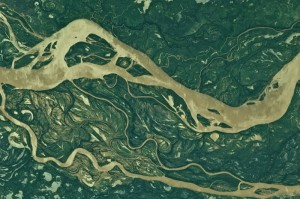 Río Paraná – Estación Espacial Internacional - 9 de abril de 2011