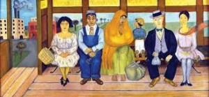 El autobus, Frida Kahlo (1929)