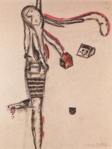 Dibujo de Antonin, 1942.