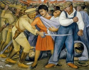 el levantamiento, Diego Rivera