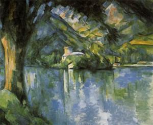 Lago de Annecy - Paul Cezanne