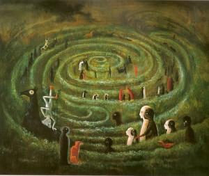 Leonora-Carrington_he-labyrinth