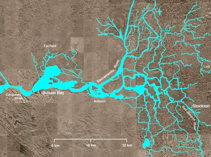 Sacramento San Joaquín River Delta