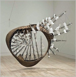 Tim Hawkinson barco-mobius