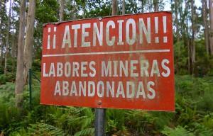 cartel abandonadas