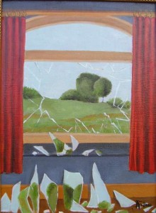 La llave de los campos, René Magritte.