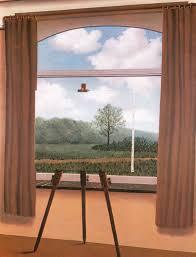 A condición humana, René Magritte.
