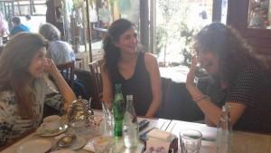 Sonia Novello,  Claudia Mac Auliffe y Gabriela Stoppelman.