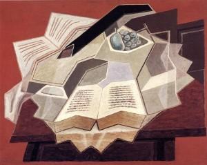Juan Gris, El libro abierto.