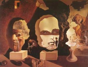 Salvador Dalí, Old Age Adolescene Infancy.