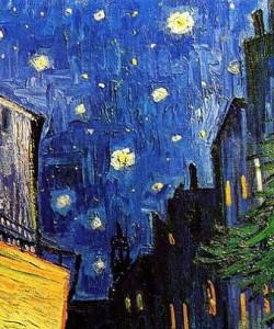 La noche estrellada, Vincent Van Gogh.