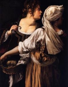 Judith y su doncella - Artemisia Gentileschi