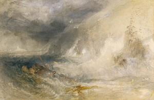 J. M. W. Turner - Long Ship's Lighthouse