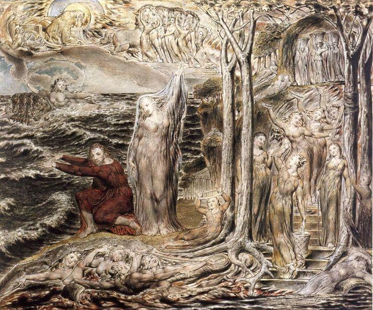 """""""El árbol del tiempo"""", William Blake"""