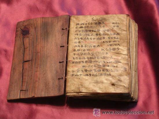 Códice etíope cristiano copto