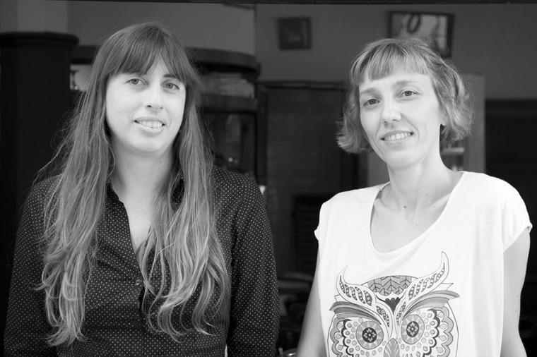 Fernanda Nicolini y Alicia Beltrami.