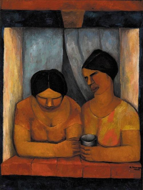 teatro7rufino tamayo dos-mujeres-en-la-ventana-1925