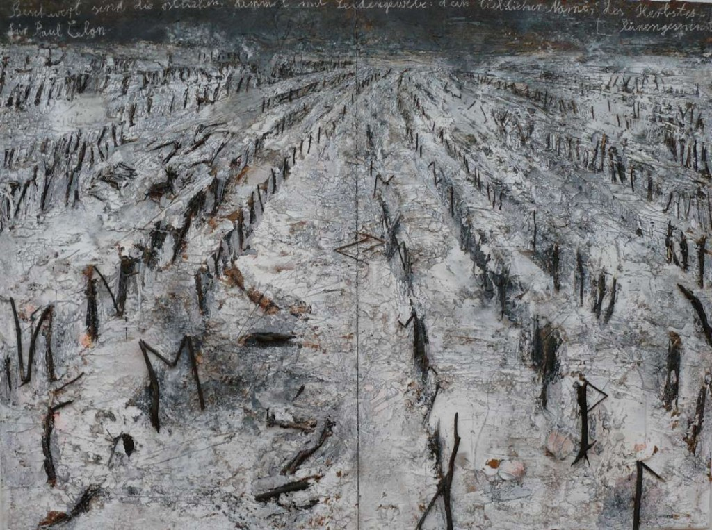 "-Anselm Kiefer ""The autumn's whisper"