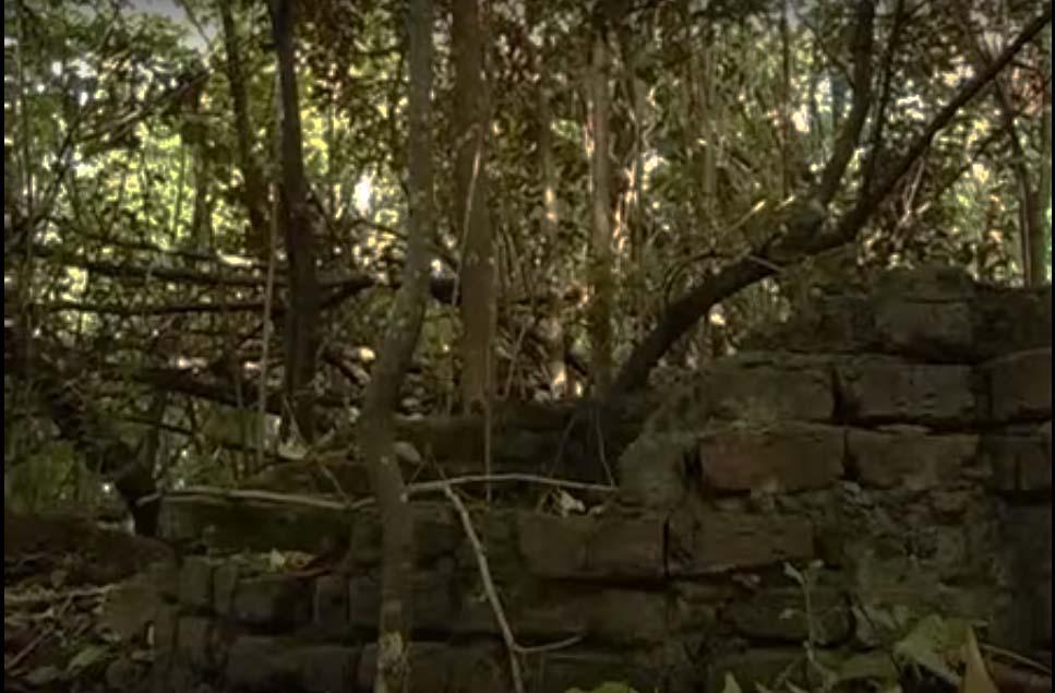 Ruinas de la casa natal de Atahualpa Yupanqui, en Campo de la Cruz, Pergamino