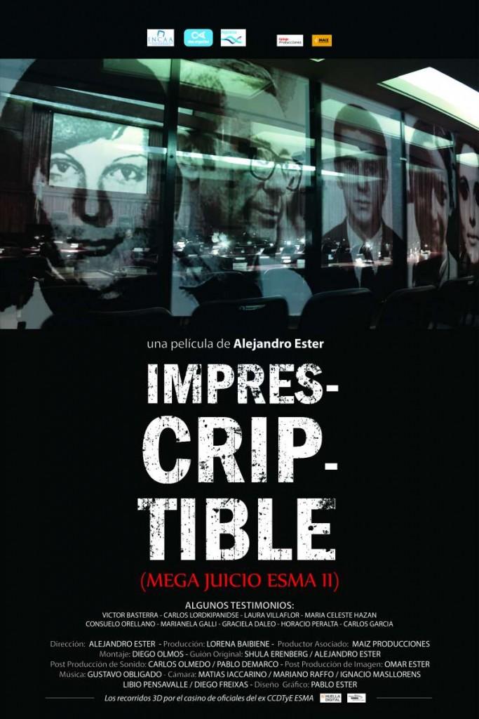 afiche Imprescriptible