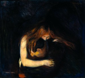 carlos coll5 amor y dolor ( el vampiro)  Edvard Munch