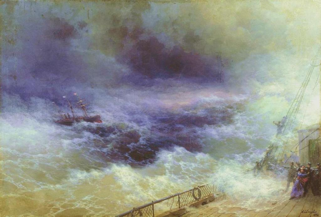 ivan-aivazovsky-ocean-1896, olvido