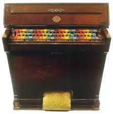 Piano de colores y texturas de Xul Solar