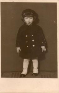 Mi abuelo Lothar de chiquito
