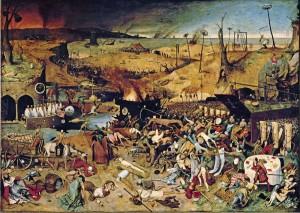 """""""El triunfo de la muerte"""" - Peter Brueghel, """"El Viejo"""", 1562"""