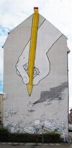 Grafitti, Blu.