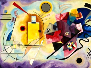 Vasily Kandinsky - Amarillo Rojo Azul
