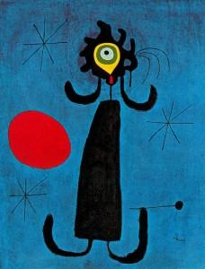 Joan Miró - Mujer ante el sol