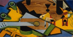 Juan Gris -Still Life with a Guitar