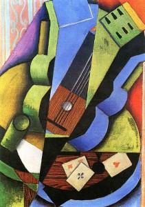 Juan Gris - Guitarra y cartas