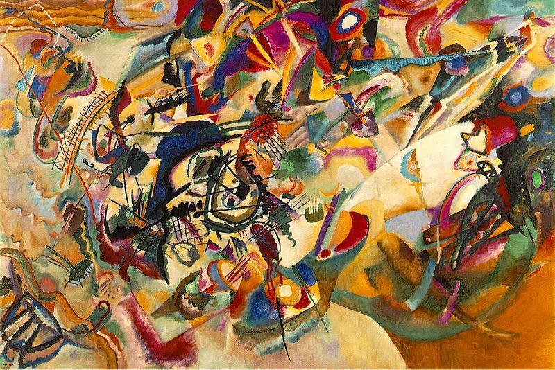 Composición VII, Wassily Kandinsky