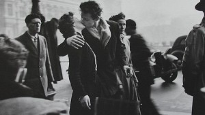 Robert Doisneau - El beso